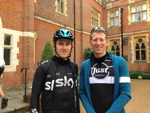 Ride with Geraint Thomas (Team Sky, Olympic gold medallist)