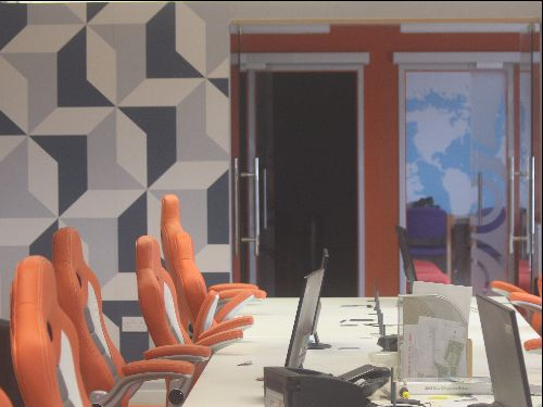 The Crowd Cook Office. A bright modern space with room for up to 20 people.
